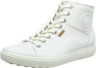 ECCO 爱步 女式 Soft 7 高帮 运动鞋