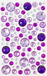 allydrew A71933c 水钻宝石贴纸 Jewel Purples O/S A71937c