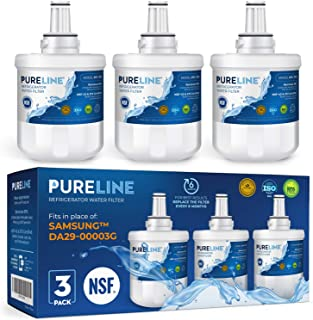 Samsung Aqua-Pure Plus DA29-00003G 冰箱滤水器替换件,也适用于 Aqua-Pure Plus DA29-00003A、DA29-0003B 及更多 - Pure Line