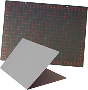 Pro Art 18-Inch by 24-Inch Foldable Graphic Cutting Mat, Black