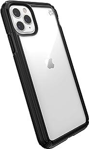 Speck 产品兼容苹果 iPhone 11 Pro Max,Presidio V-Grip 手机壳130037-5905 透明/黑色