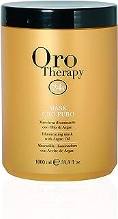 Fanola Oro Therapy 含角蛋白和Argan的照明面膜,1000毫升