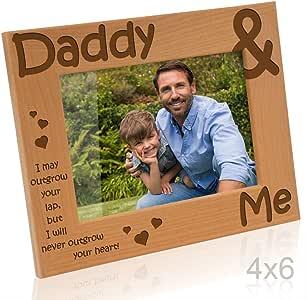 Kate Posh - Daddy & Me 木质相框 天然实木 4x6-Horizontal unknown