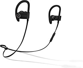 Beats Powerbeats3 by Dr. Dre Wireless 入耳式耳机 - 黑色 运动耳机 蓝牙无线 带麦