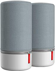 Libratone ZIPP 2 多房间套装 2 件,智能无线扬声器(Alexa 集成,AirPlay 2,360音效,WLAN,蓝牙,Spotify Connect,12小时 电池)LH0031000EU05ZM ZIPP 2 MultiRoom Bundle