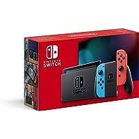 Nintendo 任天堂 Switch 霓虹-红/霓虹-蓝(新版)