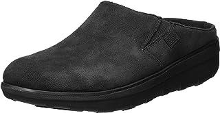 fitflop 女式 loaff 麂皮洞洞鞋 黑色 7 B(M) US