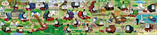 18+24+32片 面向兒童拼圖 機車托馬斯小火車 連接便當盒3 【階段帕諾拉瑪拼圖】