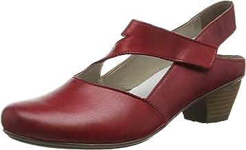 Rieker 41779,女式款后帶挑空式高跟鞋