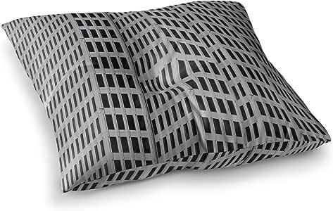 "KESS InHouse Maynard Logan ""网格""方形地垫 多种颜色 26"" x 26"" ML1013ASF02"