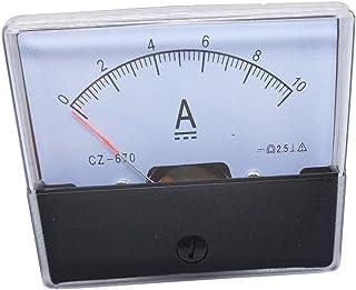 模拟面板 AMP 电流电流电流电流计 DH-670 0-10A DC
