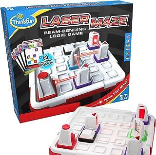 Think 趣味激光迷宮(1 類)邏輯游戲和 STEM 玩具,適合 8 歲及以上男孩和女孩使用 - 屢獲殊榮的孩子游戲