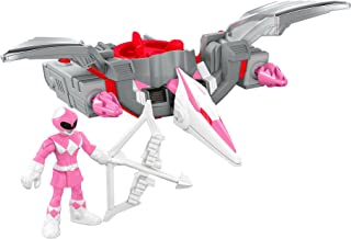 Fisher-Price Imaginext Power Rangers Pink Ranger & 翼龙佐德