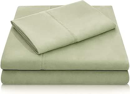 Malouf Fine Linens® 100% Brushed Microfiber Super Soft Luxury Bed Sheet Set - Wrinkle Resistant