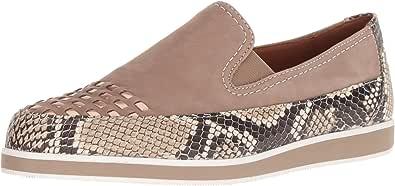ara 女式 Laurel 乐福鞋 平底鞋 Taupe Snake Combo 4 M UK (6.5 US)