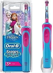 Oral-B 欧乐B Stages Power 儿童可充电式电动牙刷,深蓝色/红色