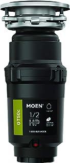 Moen 摩恩 GT50C GT 系列 1/2 马力垃圾处理,配有快速跟踪技术