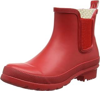 romika romirub 10,女式无衬里橡胶靴短款长度