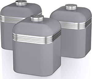 Swan Canisters 灰色 均码