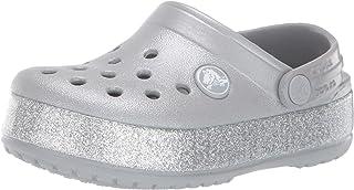 Crocs 卡骆驰儿童 Crocband 闪光洞鞋