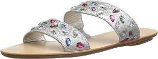 Loeffler Randall 女士花边(金属宝石)凉鞋