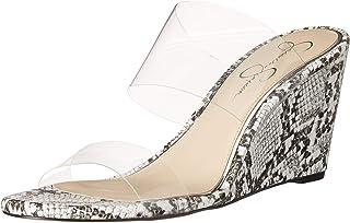 Jessica Simpson 女士 Cilvey 坡跟凉鞋