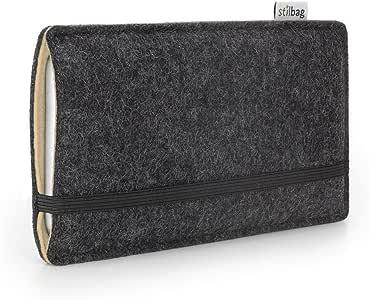 Stilbag 毛毡套 ' Finn ' 适用于华为 Nexus 6P – 颜色 : 煤黑色 / 米色