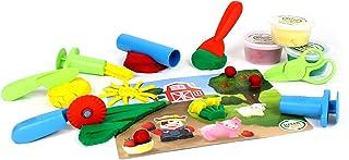 Green Toys DMT1-1245 玩具垫/工具面团套装