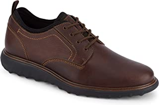 Dockers 男士 Armstrong 皮革智能系列正装休闲牛津鞋 Briar 7