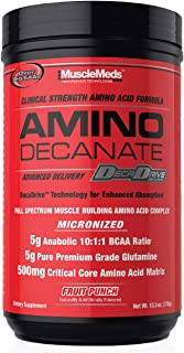 MuscleMeds Amino Decanate, Fruit Punch, 30-Count