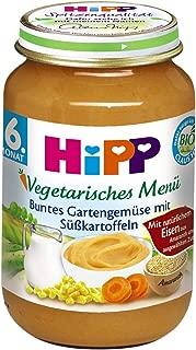 HiPP 喜宝 Bio 多彩花园蔬菜配甘薯辅食 ,6个月以上适用,6罐(6 x 190克)