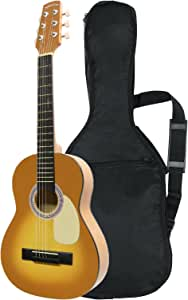 Sepia Crue セピアクルー ミニアコースティックギター W-50/HB ハニーバースト (ソフトケース付)