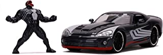 Marvel Venom & Dodge Viper 1:24 压铸车 带公仔