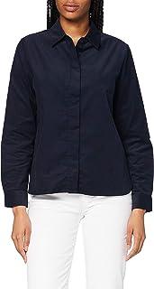 Seidensticker 女式麻布蕾丝束带衬衫