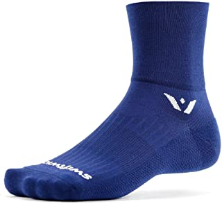 swiftwick–Aspire FOUR ,分船袜适用于骑行和越野跑步