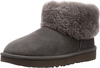 Ugg 羊皮靴 CLASSIC MINI FLUFF 女士