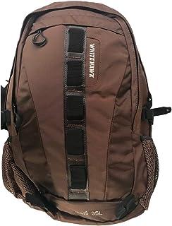 White Hawk 功能性背包 有趣 制作精良 日用背包 适合上学或商务使用 棕色