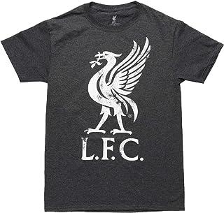 Liverpool FC Liver Bird 徽标成人 T 恤