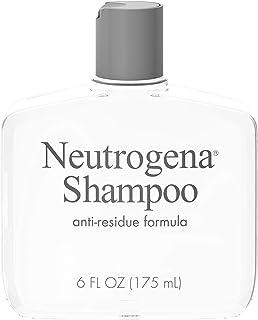 Neutrogena 露得清 Anti-Residue去残留洗发水 温和不刺激 清理头发残留 6液体盎司(175毫升)