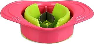 "Fackelmann 43217 7.1 x 5.1""Tropical"" 塑料/不锈钢芒果分离器,粉色/绿色"