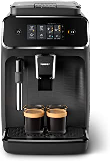 Philips 飞利浦 EP2220/10 触摸屏全自动咖啡机,磨砂黑