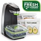 FoodSaver 新鲜食品真空密封器系统,含食品储存容器和 5 个储存袋,FFS010