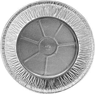 """11 英寸超深一次性/可重复使用的煎锅 #2411 Handi-Foil 出品 银色 11 """" 4001-50-500"""