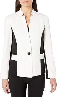 Kasper 女士单扣缺口领夹克