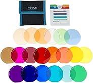 ExpoImaging ROGUEGELS-U 无管理系统摄影设计 无管理系统通用照明过滤器套件ROGUEGELS-G 组合过滤器套件 Rogue Grid Gels 20 种颜色