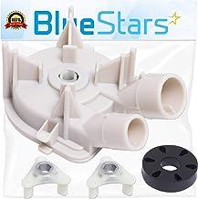 3363394 & 285753A 洗衣機排水泵 帶墊圈馬達耦合套件 Blue Stars 出品 - 完全適合 Whirlpool Kenmore 洗衣機
