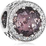 Pandora 潘多拉 女式9K ( 375) 银质锆石配饰