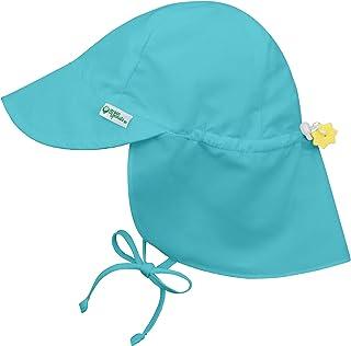 I PLAY . 婴儿男孩翻盖 游泳帽子 浅绿色 2T/4T