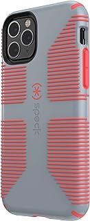 Speck CandyShell Grip iPhone 11 Pro Case 覆盖 多种颜色128835-B994 Nickel Grey/Warning Orange