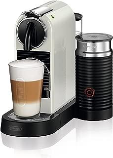DeLonghi 德龍 Nespresso EN267.WAE Citiz 膠囊咖啡機 高壓泵 溫度控制 節能 一體式Aeroccino-奶泡器-奶白色